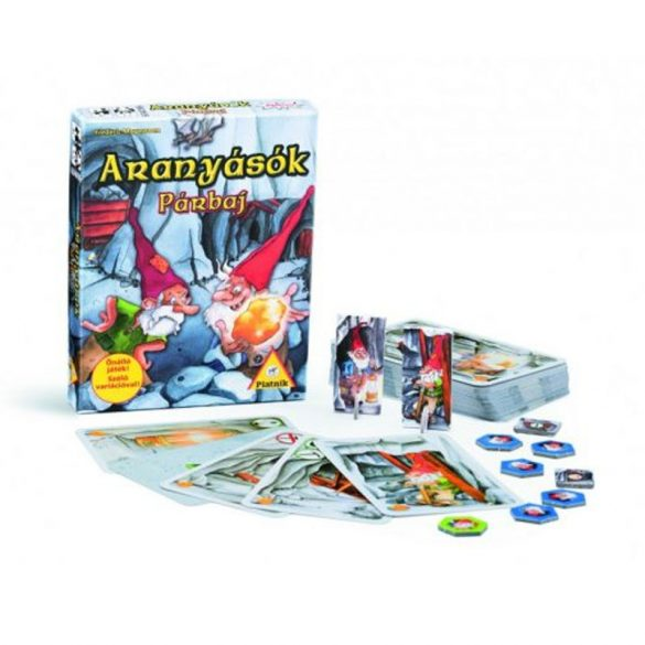 Aranyásók 3 kártyajáték - PÁRBAJ