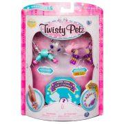Twisty Petz kisállat figurás karkötő - Glitzy Panda és Fluffles Bunny figura