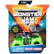 Monster Jam kisautó figurával - Grave Digger