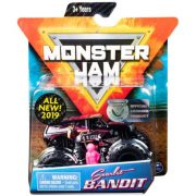 Monster Jam kisautó figurával - Scarlet Bandit