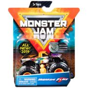 Monster Jam kisautó figurával - Hurricane Force