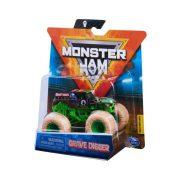 Monster Jam 1:64 Monster Truck kisautó - Grave Digger kõ kerekekkel