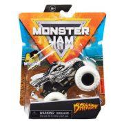 Monster Jam Wheelie 1:64 kisautó - Dragon