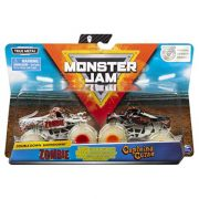 Monster Jam - Zombie és Captain's Curse autó szett