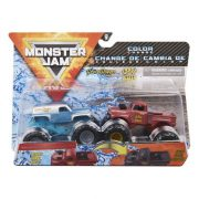 Monster Jam 2 db-os színváltós kisautók - Grave Digger