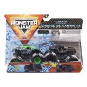 Monster Jam 2 db-os színváltós kisautók - Alien Invasion és Soldier Fortune