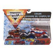 Monster Jam 2 db-os színváltós kisautók - El Toro Loco és Cyclops