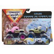 Monster Jam 2db-os színváltós kisautók - Monster Mutt Poodle és Monster Mutt Husky