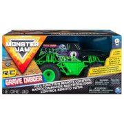 Monster Jam RC - Grave Digger távirányítós autó