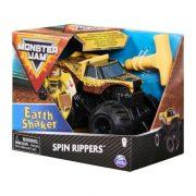 Monster Jam Spin Rippers hátrahúzható kisautó - Earth Shaker