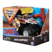 Monster Jam Spin Rippers hátrahúzható kisautó - Zombie