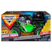 Monster Jam RC - Grave Digger távirányítós autó 1:15-ös méretaránnyal