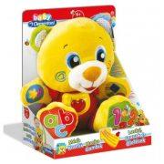 Baby Clementoni 60456 - Mackó Lackó interaktív plüss maci