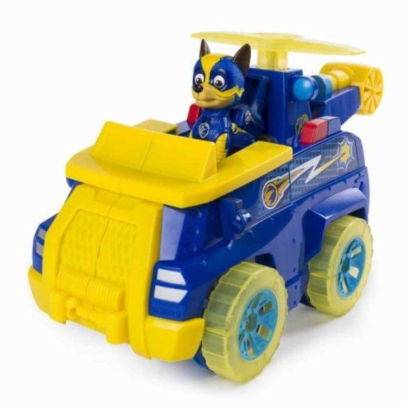 Mancs őrjárat Migthy Pups Flip and Fly - Chase átalakuló szuper járműve
