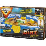 Monster Jam - Dirt Arena játékszett MAX-D autóval