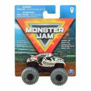 Monster Jam mûanyag kisautó - Monster Mutt Dalmatian fekete kerekekkel