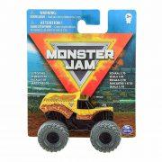 Monster Jam mûanyag kisautó - Earth Shaker sötét szürke kerekekkel