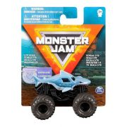 Monster Jam mûanyag kisautó - Megalodon szürke kerekekkel