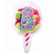 Candylocks Vattacukor hajú illatos meglepetés baba: Pink-zöld haj