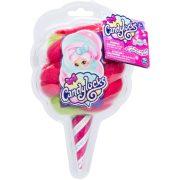 Candylocks Vattacukor hajú illatos meglepetés baba: Zöld-pink haj