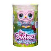 Owleez - Interaktív repülő bagoly (rózsaszín)