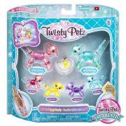 Twisty Petz Kanyargós kiskutya karkötő család - Rainbow Puppy Family (3. széria)