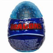 Így neveld a sárkányodat 3 - Plüss Fogatlan bébi sárkány sötétkék tojásban