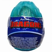 Így neveld a sárkányodat 3 - Plüss Terrible Terror bébi sárkány türkiz zöld tojásban