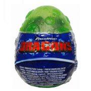 Így neveld a sárkányodat 3 - Plüss Rumbling Gutbuster bébi sárkány zöld tojásban