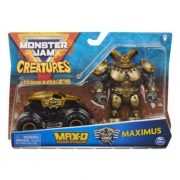 Monster Jam Creatures kisautó figurával - Max-D és Maximus