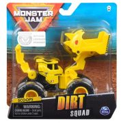 Monster Jam Dirt Squad játékautó - Scoops