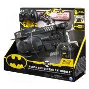 DC Batman - RC Batmobil Indíts és védekezz távirányítós autó figurával