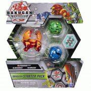 Bakugan kezdő csomag - Hydorous Ultra, Dragonoid, Howlkor