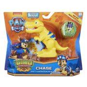 Mancs õrjárat Dino Rescue - Chase figura T-Rex dinoszaurusszal