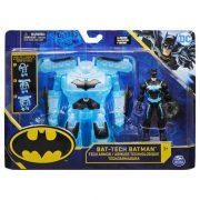 Bat-Tech Taktikai Batman Deluxe csomag - Batman páncélzattal (10 cm)