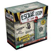 Escape Room The Game 2.0 - Szabadulószoba társasjáték 4 játékkal