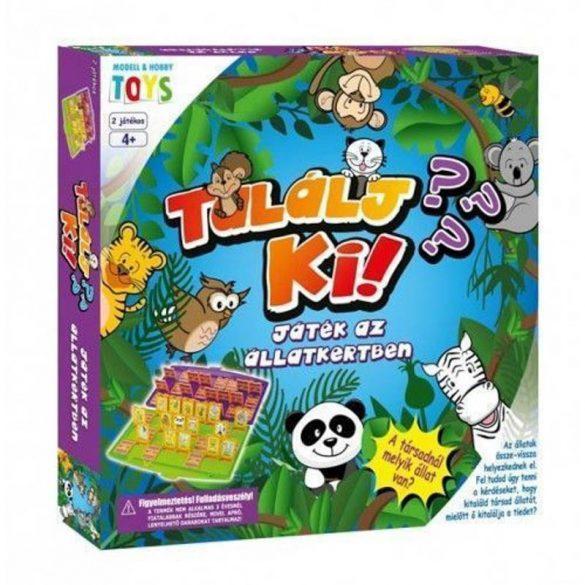 Találj ki! Játék az állatkert