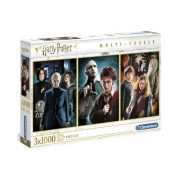 Clementoni 61884 Multi puzzle - Harry Potter (3x1000 db)