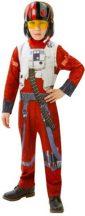 Star Wars gyerek jelmez - Vadászpilóta (L-es méret, 128 cm)