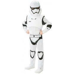 Star Wars Deluxe gyerek jelmez - Rohamosztagos (L-es méret, 128 cm)