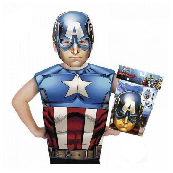 Bosszúállók gyermek jelmez - Amerika kapitány jelmez (3-6 éves)