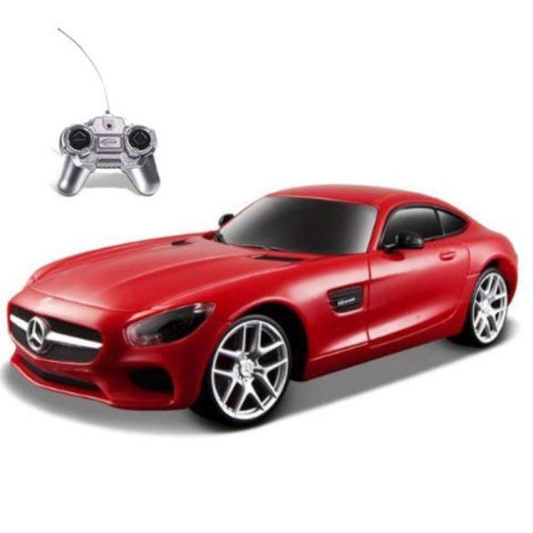 Rastar Távirányítós autó 1:24-es méretaránnyal -Mercedes AMG GT (piros)