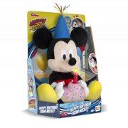 Boldog Szülinapot Mickey egér plüss figura (29 cm)