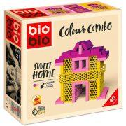 Bioblo Colour Combo - Sweet Home építőkészlet (40 db-os)