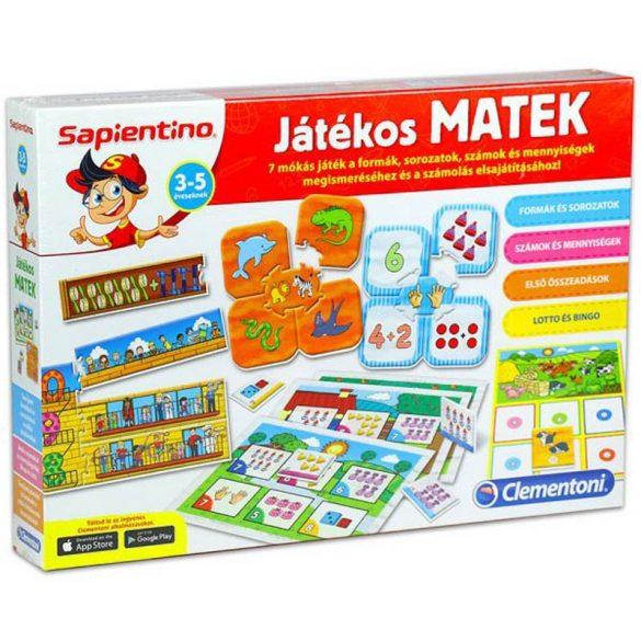 Sapientino Játékos Matek - fejlesztő társasjáték