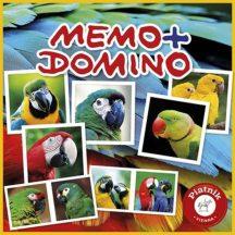 Piatnik Memo-Domino társasjáték - PAPAGÁJOK