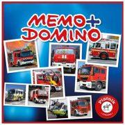 Piatnik Memo-Domino társasjáték - TŰZOLTÓK