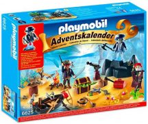 Playmobil 6625 Adventi naptár - Kalózok álma, Bőségsziget