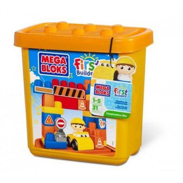 Mega Bloks Építkezős készlet kicsi