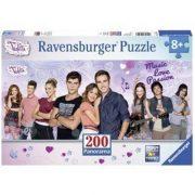 Ravensburger 12799 XXL panorama Disney puzzle - Violetta és barátai (200 db-os)